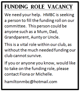 funding role vacancy